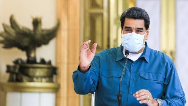 O ditador da Venezuela, Nicolás Maduro.