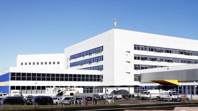 Hospital Universitário da UEPG.