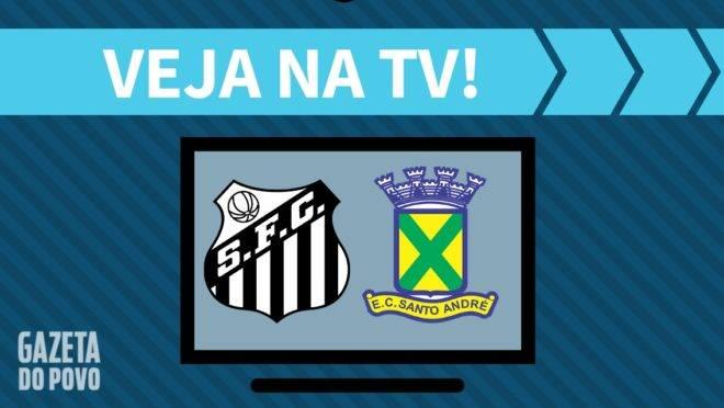 Santos x Santo André AO VIVO: como assistir ao jogo na TV