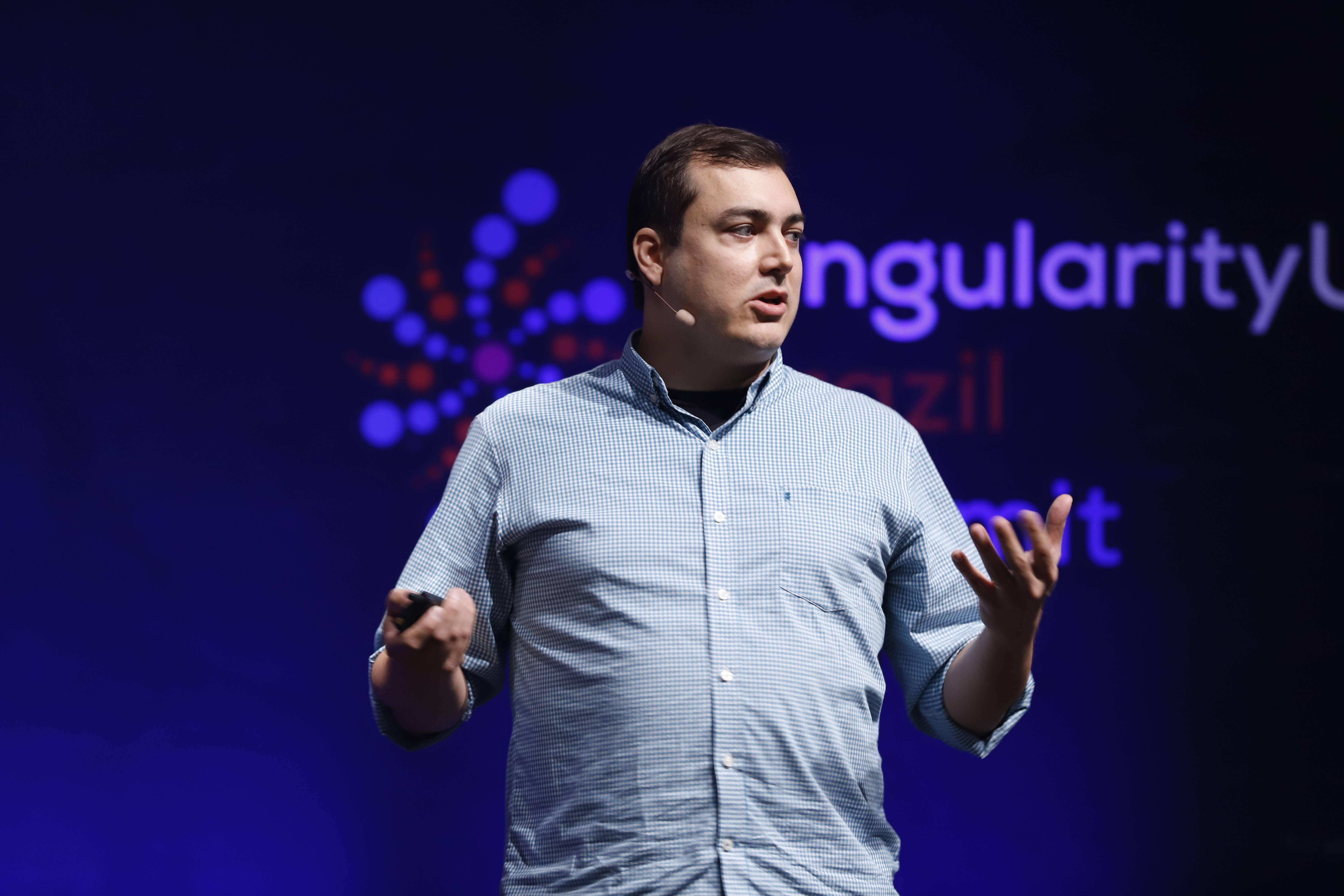 Alexandre Nascimento, professor da SingularityU Brazil. Foto: Divulgação/SingularityU