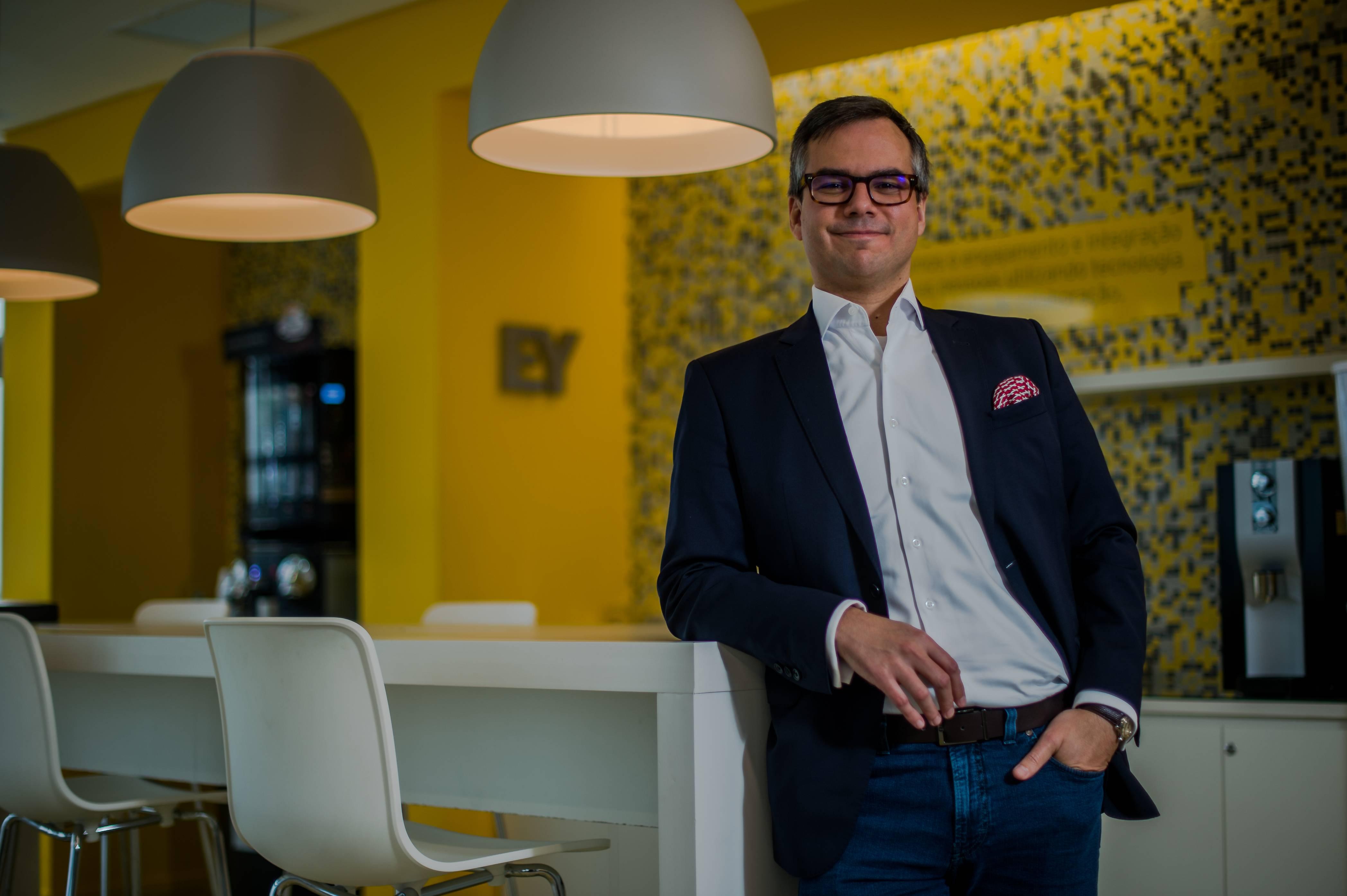 Denis Balaguer, diretor de inovação da EY. Foto: Divulgação