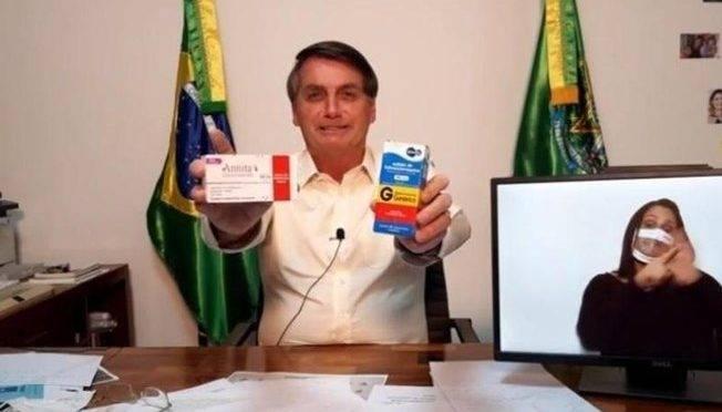 Bolsonaro diz que Anvisa vai facilitar acesso a medicamentos defendidos por ele