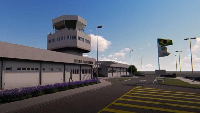 Projeto da nova torre do Aeroporto de Bacacheri é desenvolvido com consultoria do IST em Construção Civil