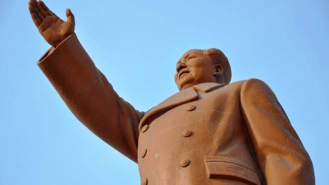 Estátua de Mao Tsé-tung