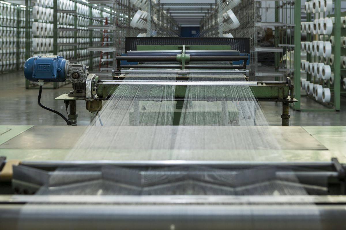 Produção tecido