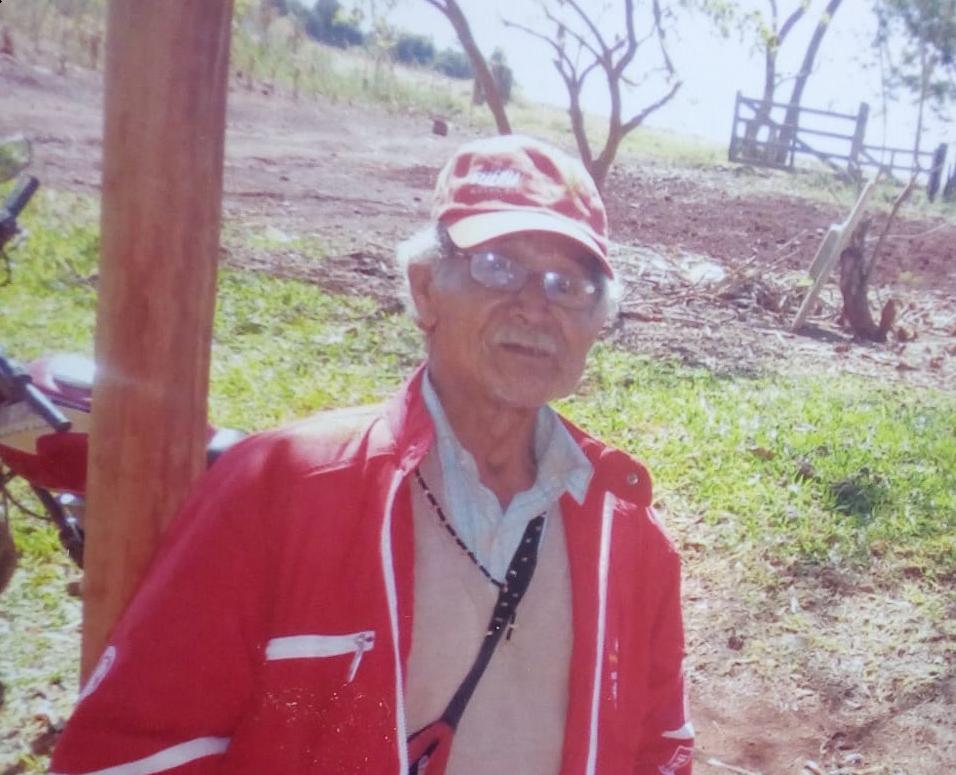 Gregório Venega, da etnia Guarani, morreu nesta sexta-feira (24). Foto: cedida por Simão Vilialva