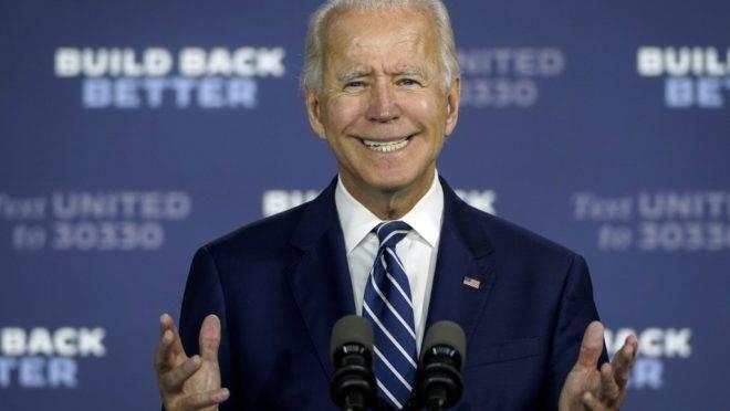 Ex-vice-presidente e candidato democrata à presidência dos EUA, Joe Biden.