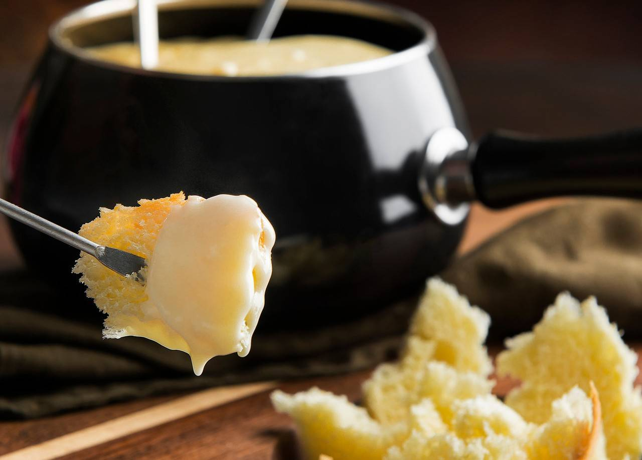 Fondue de queijos brasileiros. Foto: Letícia Akemi