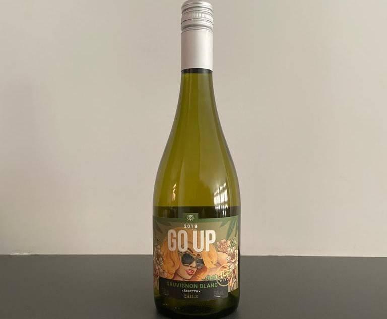 GO UP é um vinho bom para ser degustado em temperaturas mais altas. Foto: Gisele Rech