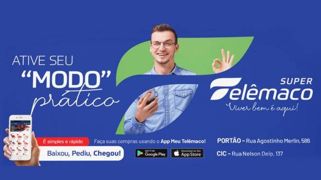 Super Telêmaco investiu em equipe especial  para criar e gerenciar aplicativo de compras
