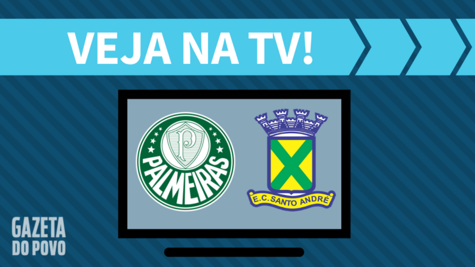 Palmeiras x Santo André AO VIVO: como assistir ao jogo na TV