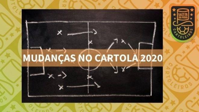 Cartola FC 2020 terá várias mudanças.