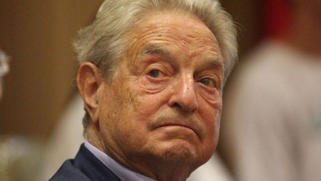Antiglobalismo contra George Soros