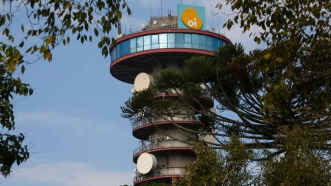 Torre da Oi em Curitiba.