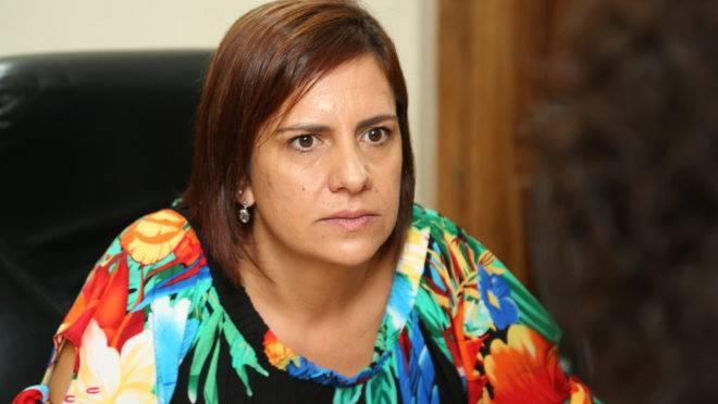 Fabiane Rosa em reunião do Conselho de Ética e Decoro Parlamentar da Câmara Municipal de Curitiba