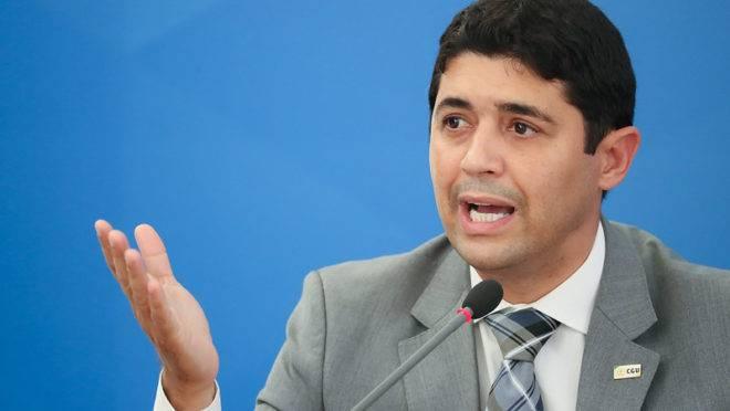 Ministro Wagner Rosário, da Controladoria Geral da União