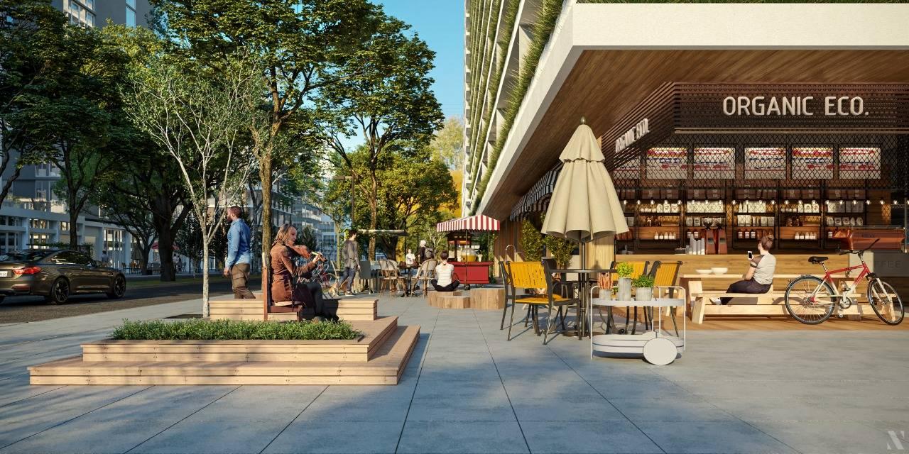 Mix de lojas será administrado pela Vokkan Urbanismo. Imagem: Vokkan/Divulgação