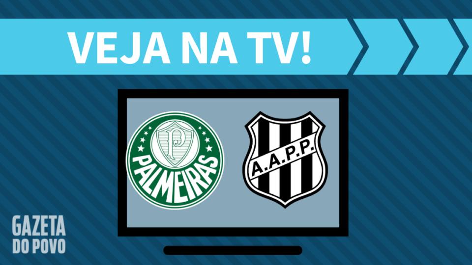 Palmeiras x Ponte Preta AO VIVO: saiba como assistir ao jogo na TV