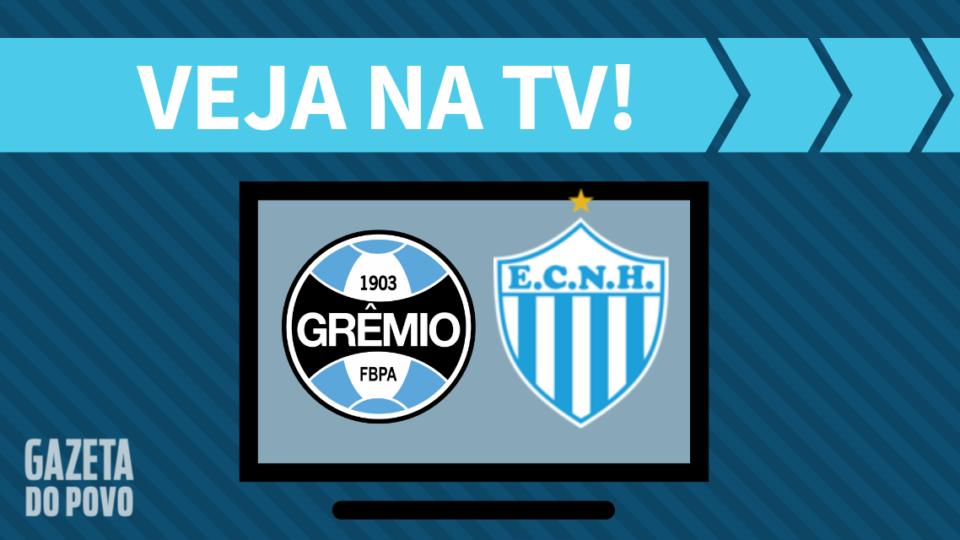 Grêmio x Novo Hamburgo AO VIVO: como assistir ao jogo na TV