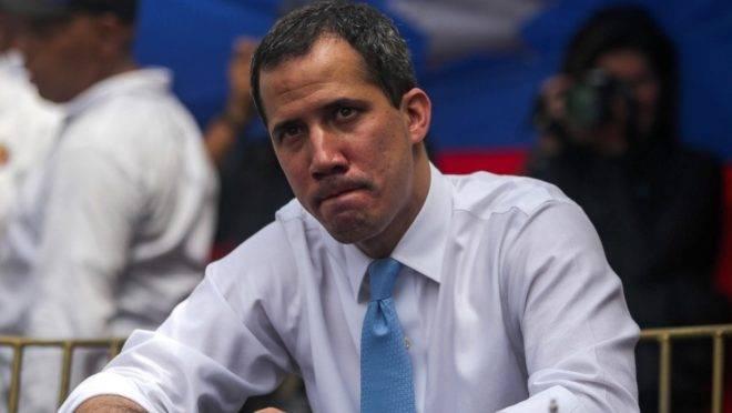 """Líder da oposição e presidente """"paralelo"""" da Venezuela, Juan Guaidó"""