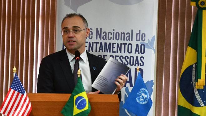 Ministro da Justiça, André Mendonça.