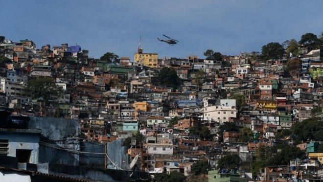 Operação em comunidade no Rio de Janeiro