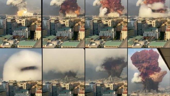 explosão beirute