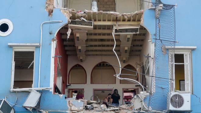 explosão líbano