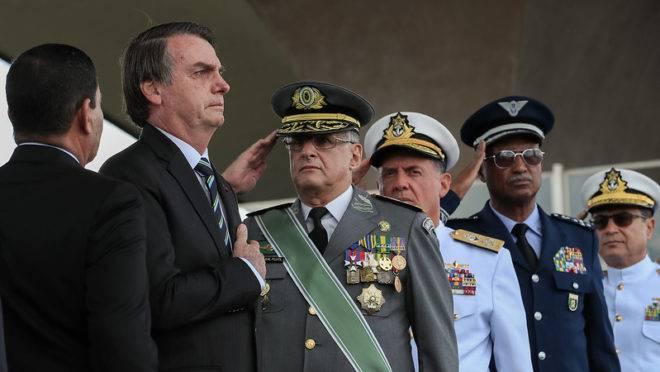 O presidente da República, Jair Bolsonaro