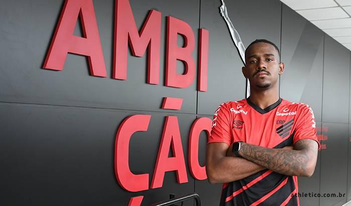 Edu era uma das principais promessas do Cruzeiro. Foto: Divulgação/Athletico