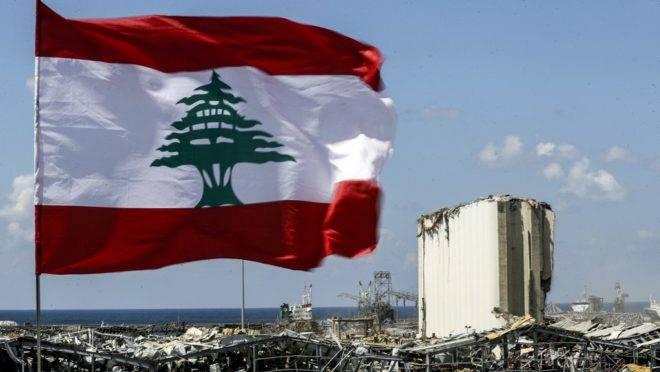 Imagem de Beirute neste domingo (9): metade da cidade foi destruída após a explosão do último dia 4.