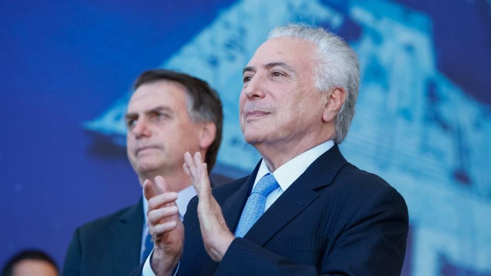 Para Temer, convite de Bolsonaro para chefiar missão no Líbano é mudança na política externa