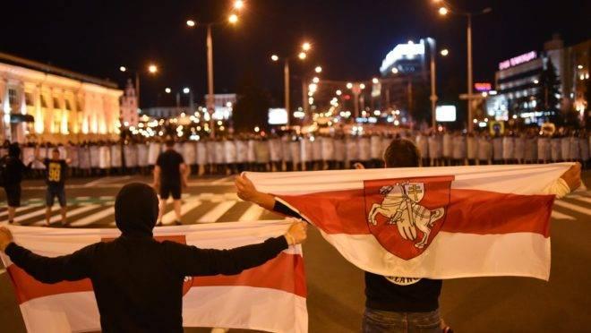 Protestos Bielorrússia