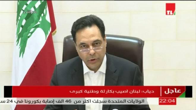 renúncia primeiro-ministro líbano