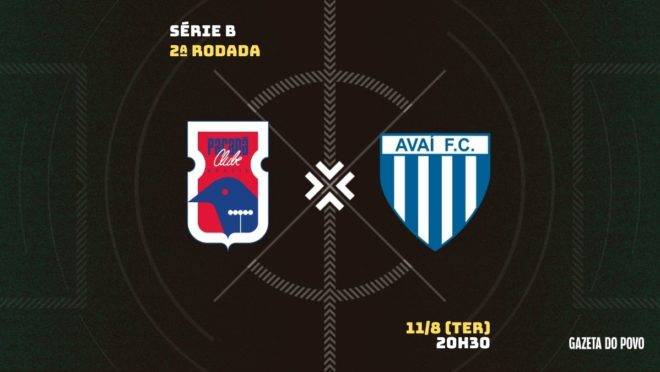 Paraná recebe o Avaí, na Vila Capanema, pela 2ª rodada da Série B
