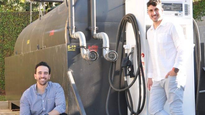 Daniel Colella e Vinicius Donin, sócios da Combudata, criada em 2019.
