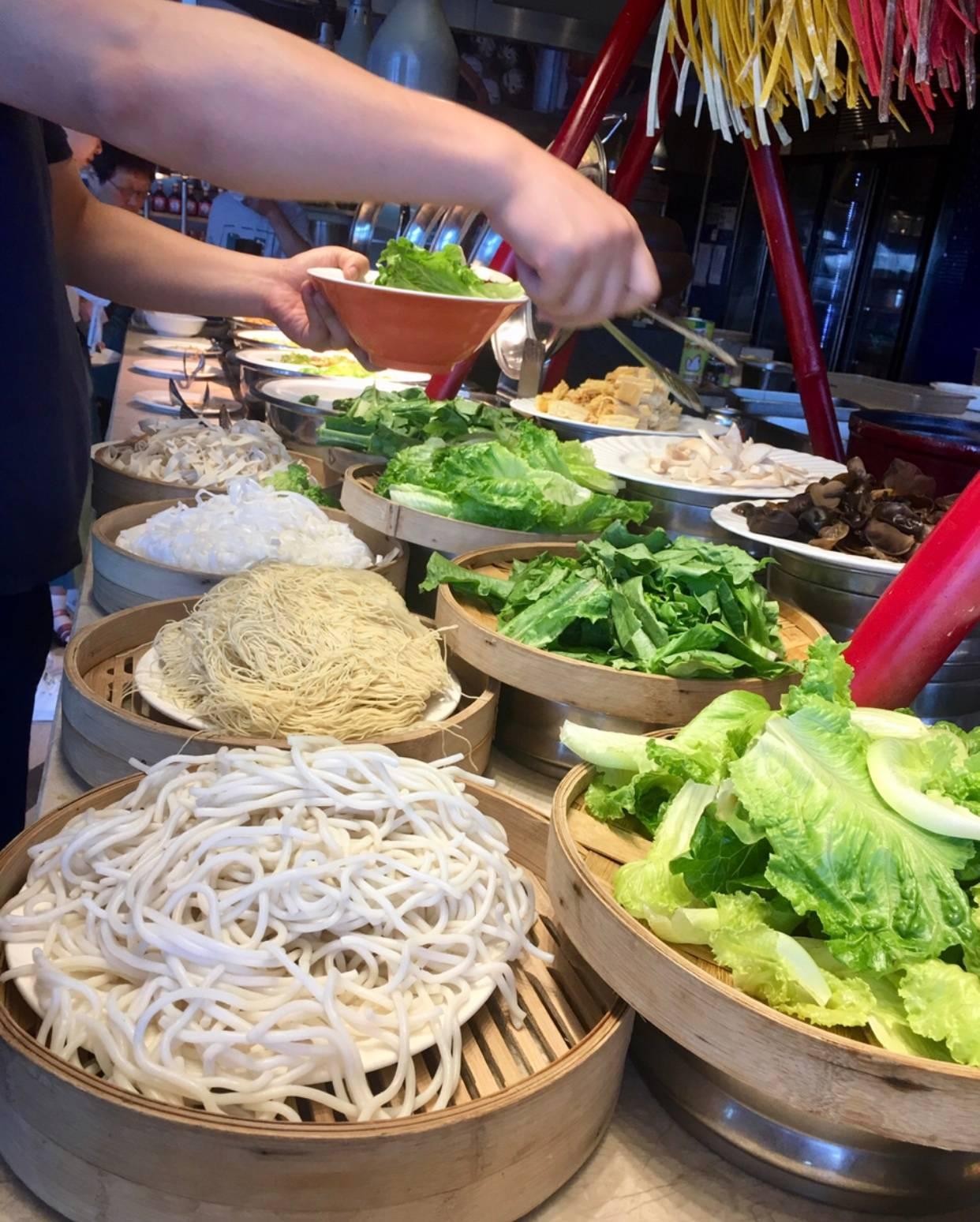 Verde que ti quero verde, com a massa escolhida garante o belo colorido do prato.