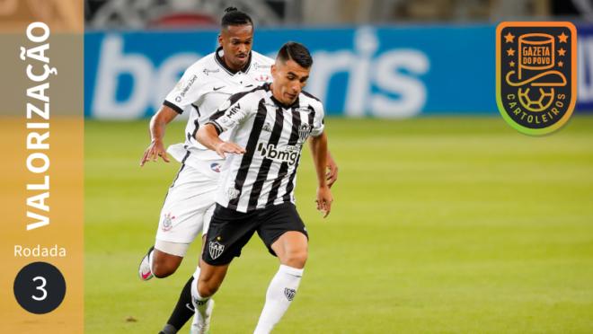 Dicas do Cartola FC 2020: valorização dos jogadores na 3ª rodada