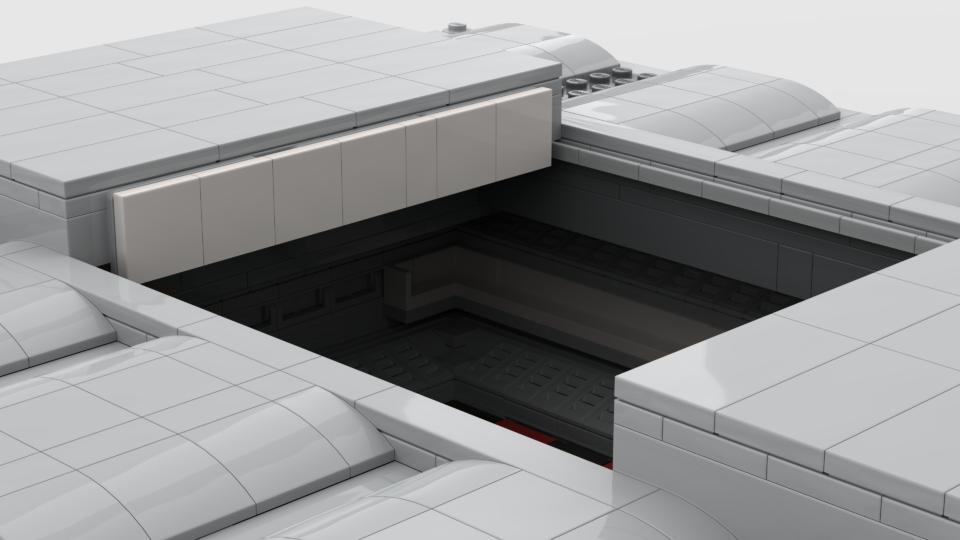 Arena da Baixada ganha maquete projetada em Lego
