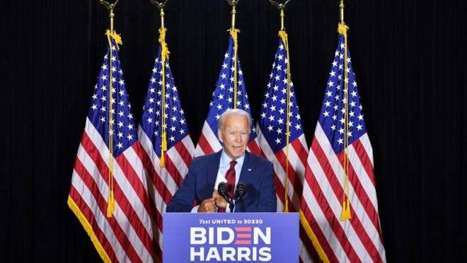 Candidato democrata Joe Biden