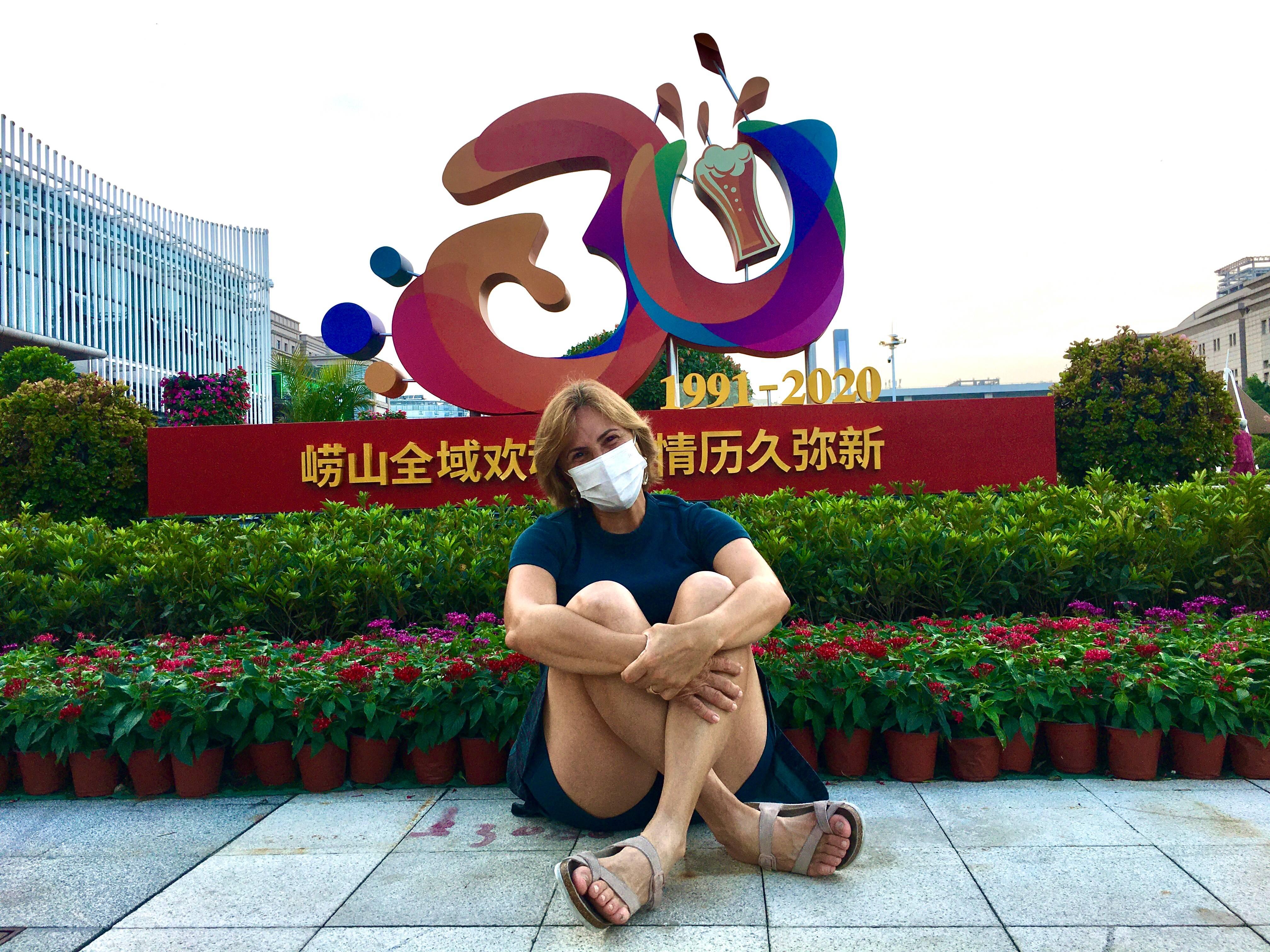 Bem Vindos ao Festival da Cerveja 2020 de Qingdao!  Mesmo de máscara, item não mais obrigatório em áreas abertas, muito a comemorar.