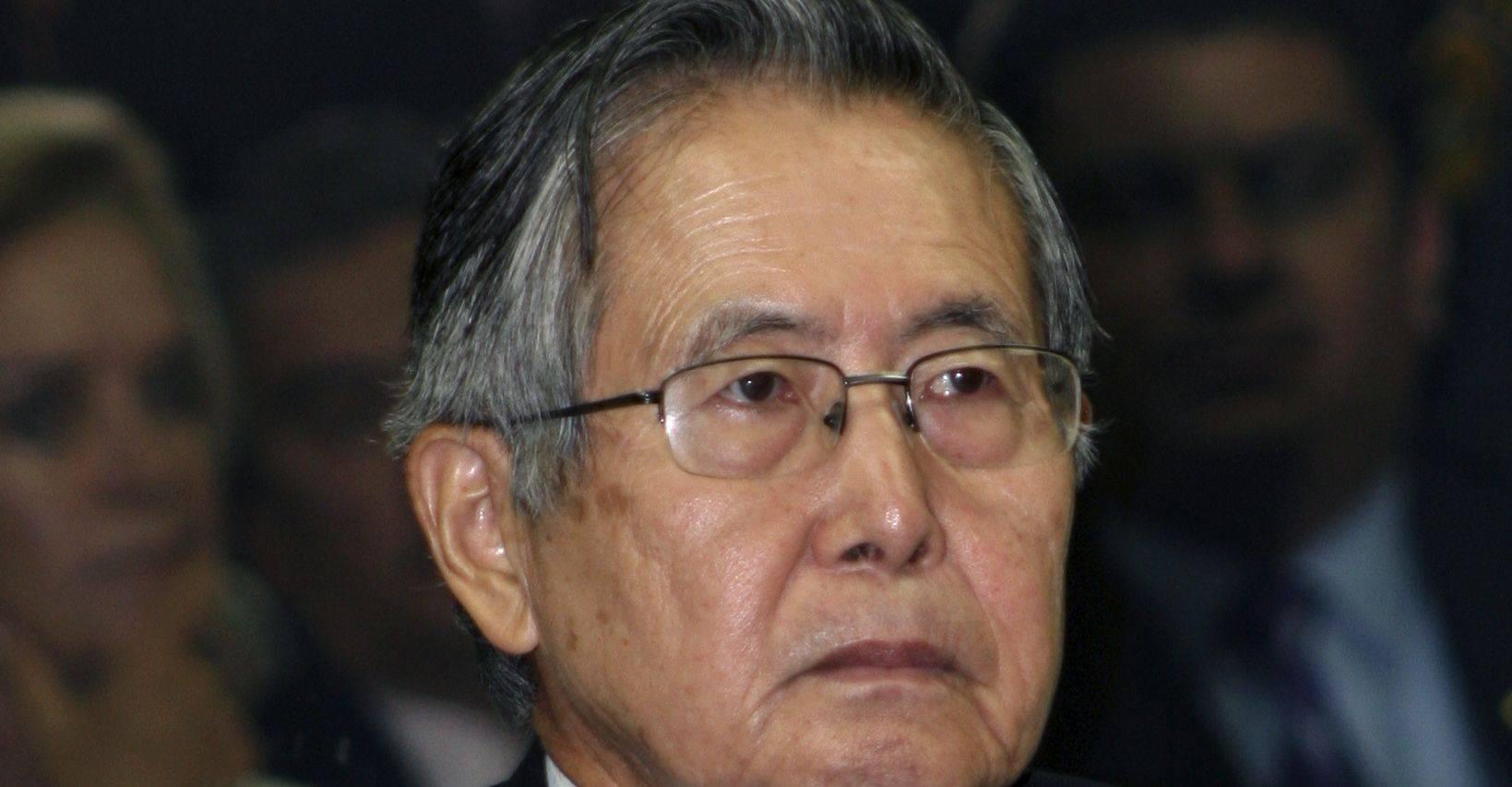 Fujimori engrossa a lista de ex-presidentes presos