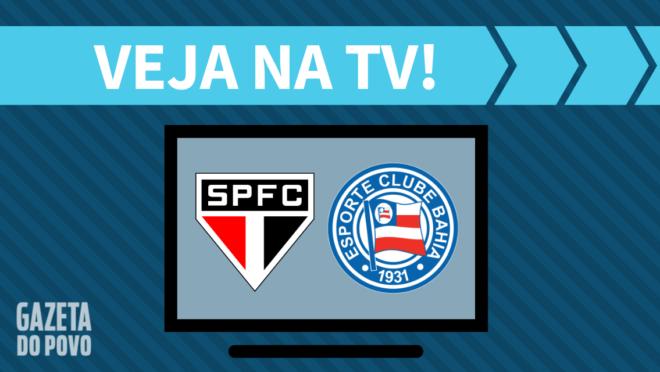 São Paulo x Bahia AO VIVO: saiba como assistir ao jogo na TV