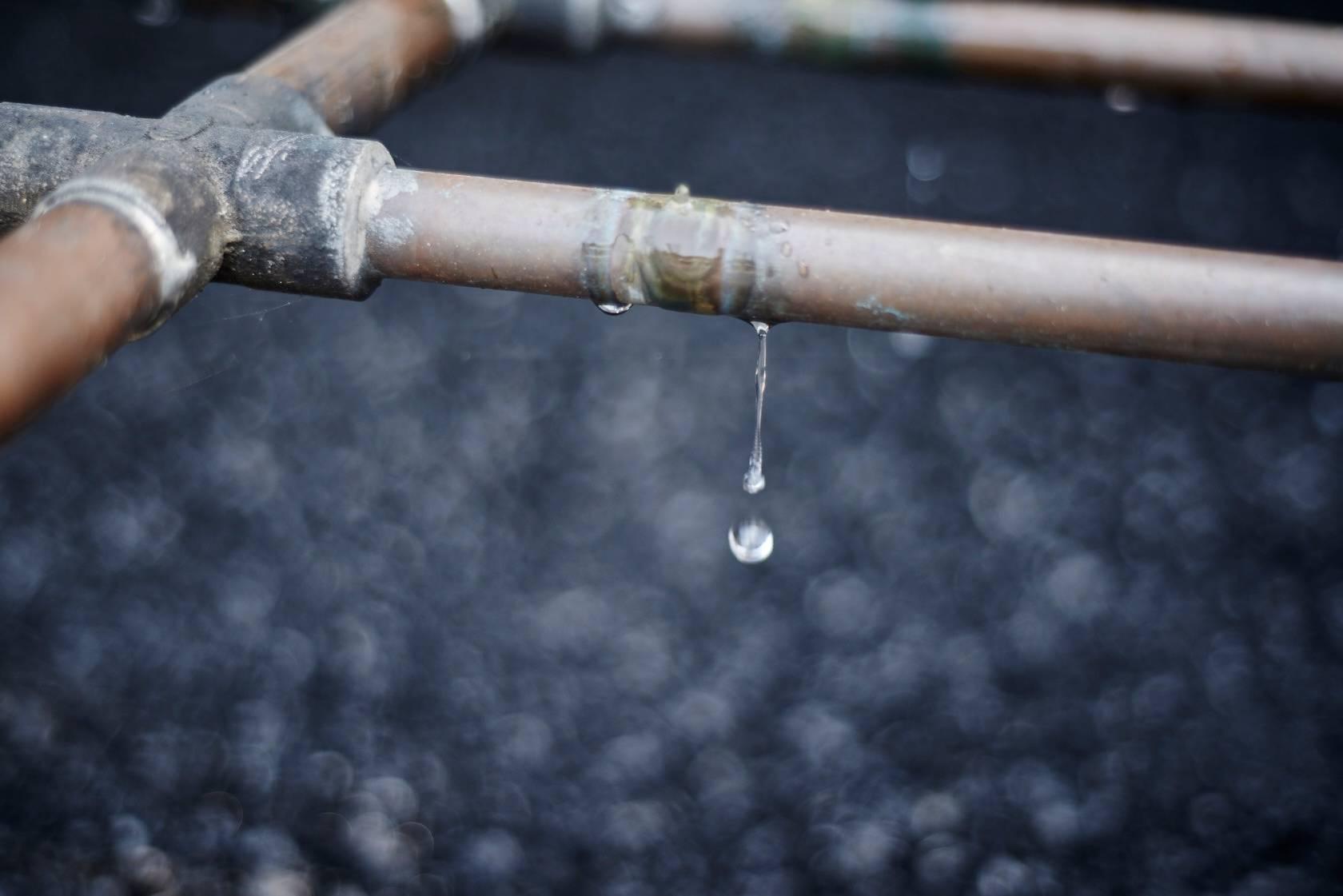 A bebida cai, gota a gota no tanque, onde leva até cinco dias para atravessar o carvão. Foto: Divulgação/Jack Daniel's