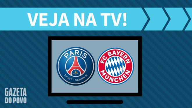 PSG x Bayern de Munique: como assistir ao jogo na TV