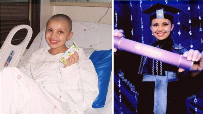 Caroline Ferreira da Silva recebeu o diagnóstico aos 14 anos e, mesmo sabendo que a chance de encontrar um doador de medula óssea era apenas 1 em 100 mil, nunca perdeu a esperança de realizar seus sonhos.