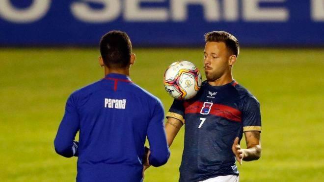Andrey começou bem a Série B e será titular no Paraná contra o Operário