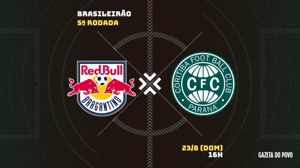 Coritiba visita RB Bragantino em busca de primeiros pontos; tudo sobre o jogo