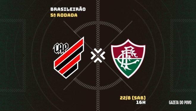 Athletico e Fluminense se enfrentam pela quinta rodada do Brasileirão