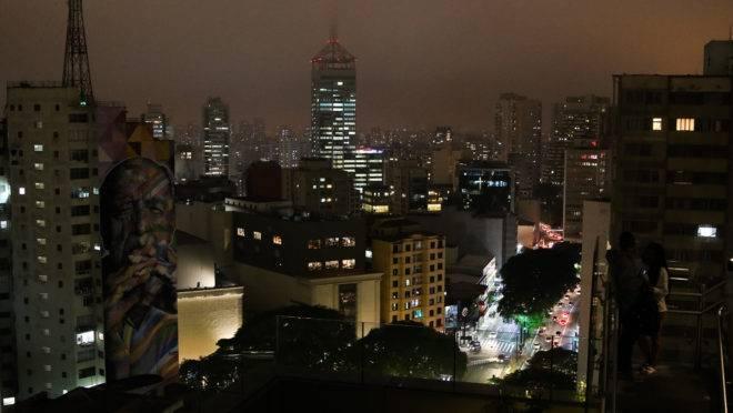 São Paulo: Avenida Paulista vista do mirante do Sesc Paulista